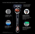 Gillette Fusion Proshield Flexball Scheersysteem + 4 mesjes