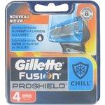 Gillette Fusion Proshield Chill Scheermesjes 4 stuks