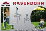 Parasolstandaard Rasendorn Extra Groot Rood (Parasolvoet)