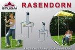 Parasolstandaard Rasendorn Extra Groot Grijs (Parasolvoet)
