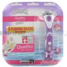 Wilkinson-Quattro-For-Women-Houder-voor-scheren-en-trimmen-+-3-mesjes
