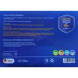 Ademhalings Masker / Mondkapjes Kartoen FFP2 Nano Zilver 2 stuks Wit Wasbaar _