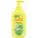 Zwitsal Bad & Wasgel Slaap Zacht Eucalyptus Pomp 2 x 400ml + Gratis Washandje_