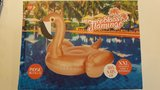 Grote Opblaasbare Rose Metallic Flamingo XXL_14
