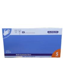 Klinion Nitrile Ultra Comfort Handschoenen Poeder en Latex Vrij Wit 150 Stuks Maat S