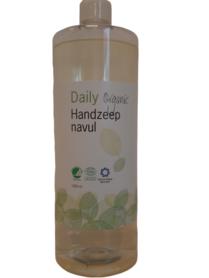 Daily Organic Handzeep Navul 1000 ml (biologisch)