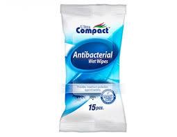 Antibacteriële Doekjes 15 stuks Ultra Compact