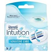 Wilkinson Intuition Sensitive care scheermesjes (3st.)
