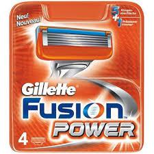 Gillette Fusion Power scheermesjes (4st.)
