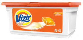 Vizir Liquid Tabs Orginal Fresh 32 Stuks