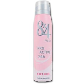 8x4 Deospray Soft Kiss 150 ml