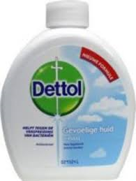 Dettol Handzeep/Wasgel Sensitive Navul 250 ml