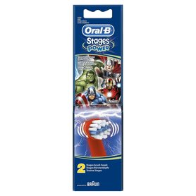 Oral-B Opzetborstel Stages Power Kids Advengers (2st.)