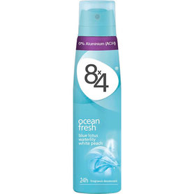 8x4 Deospray Ocean Fresh 150 ml