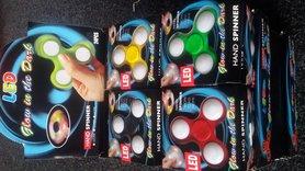 Led Fidget Spinner Glow in the Dark/Hand Spinner