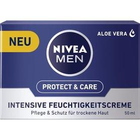 Nivea Men Gezichtscreme Intensive 50 ml