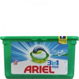 Ariel 3 in 1 Pods Alpine 38 stuks