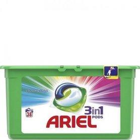 Ariel 3 in 1 Pods Color & Style 38 stuks