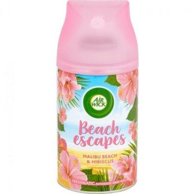 Airwick Freshmatic Max Beach Escapes Malibu Beach & Hibiscus Navul 250 ml