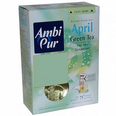 Ambi Pur luchtverfrisser April Green Tea Starterset 25 ml