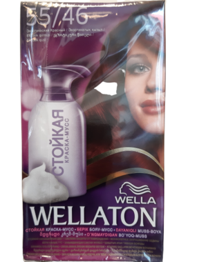 Wella Wellaton Color Mousse 55/46 Exotisch Rood