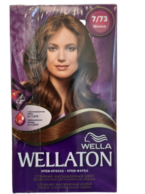 Wella Wellaton Crème Haarverf 7/73 Mokka