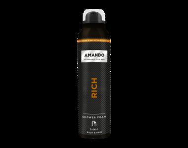 Amando Rich Shower Foam 200 ml
