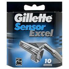 Gillette Sensor Excel Scheermesjes (10st.)