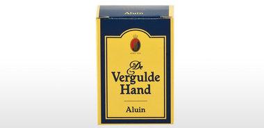 Vergulde Hand Aluin 75g.