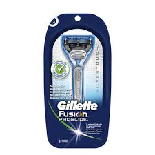 Gillette Fusion Proglide Silvertouch Scheersysteem + 1 mesje