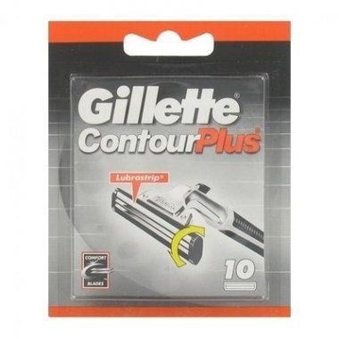 Gillette Contour Plus scheermesjes (10st)