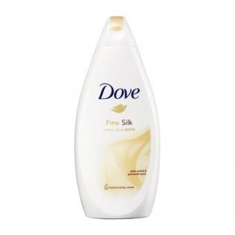 Dove Badcrème Fine Silk Verzorgende 750 ml