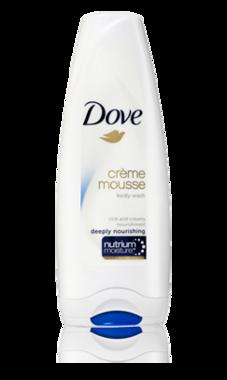 Dove Crème Mousse Deeply Nourishing 200 ml