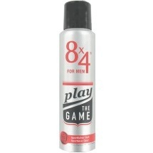 8x4 For Men Deospray Play the Game 150 ml