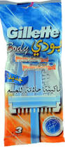 Gillette Body Wegwerpscheermesjes 3 stuks