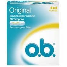O.b Original Tampons Normaal 56 stuks