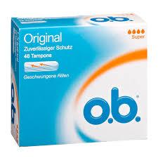 O.b Original Tampons Super 48 stuks