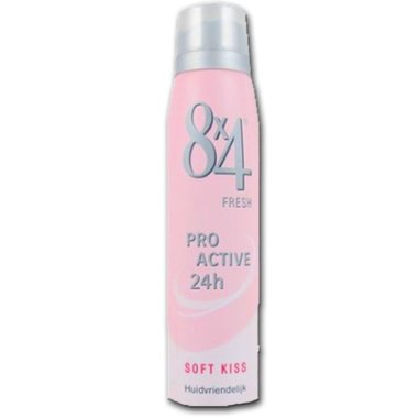 8x4 Deospray Soft Kiss 150 ml