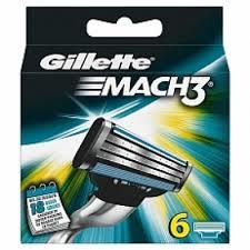 Gillette Mach3 scheermesjes (6st.)