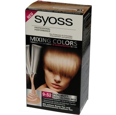 Syoss Haarverf Mixing Colors 9-52 Parelmoer lichtblond