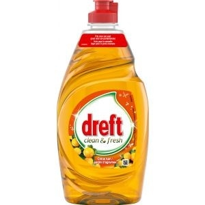 Dreft Afwasmiddel Clean & Fresh Citrus Tuin 433 ml