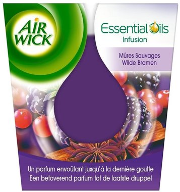 Airwick Geurkaars Essential Oils Wilde Bramen 105 gr.