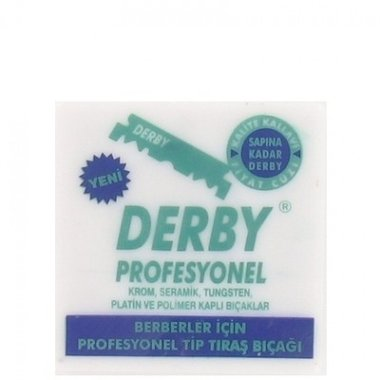 Derby Professional Scheermesjes 100 stuks
