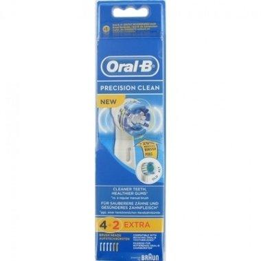 Oral-B Opzetborstel Precision Clean - 4 + 2 Extra