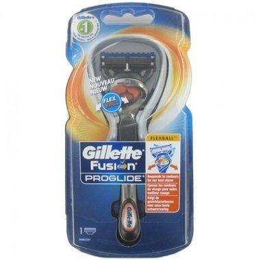 Gillette Fusion Proglide Flexball Scheersysteem + 1 mesje