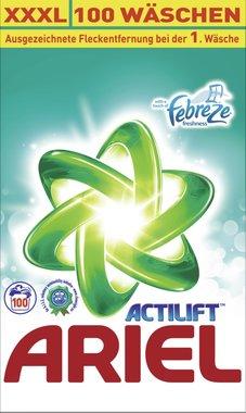 Ariel Waspoeder Actilift Febreze 100 scoop