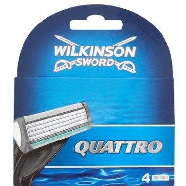 Wilkinson Quattro Scheermesjes (4st.)