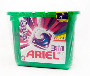 Ariel 3 in 1 Pods Color
