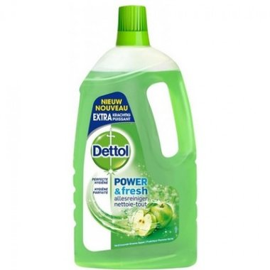 Dettol Power & Fresh Groene appel Allesreiniger 1500 ml