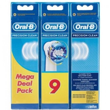 Oral-B Opzetborstel Precision Clean - 9 Stuks